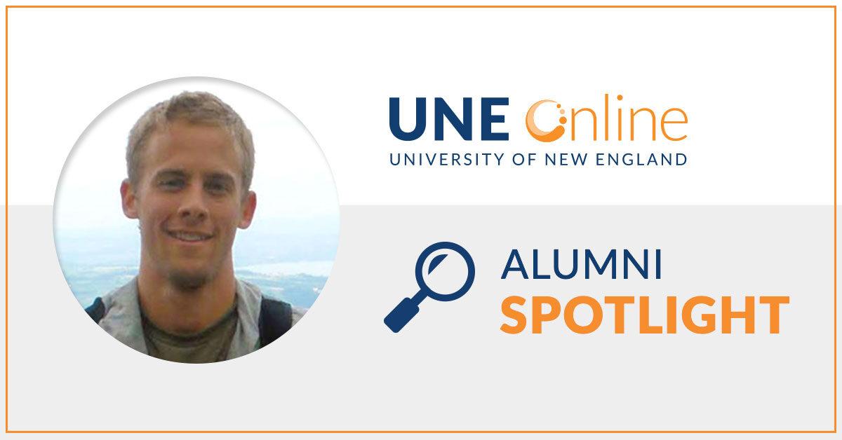 Jordan Ehni, MPH Graduate of University of New England