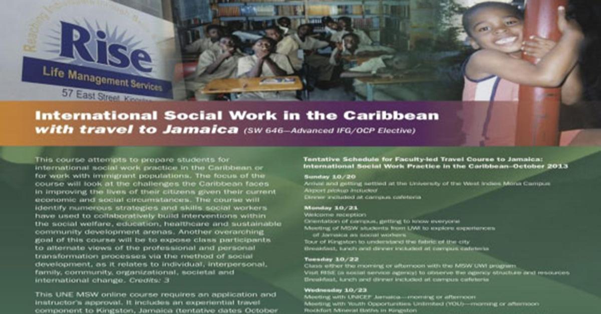 International Social Work in the Carribean