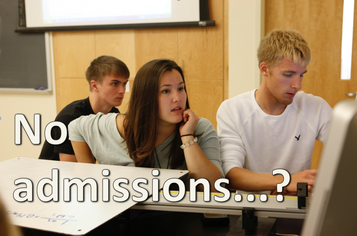UNE classes with no admissions process