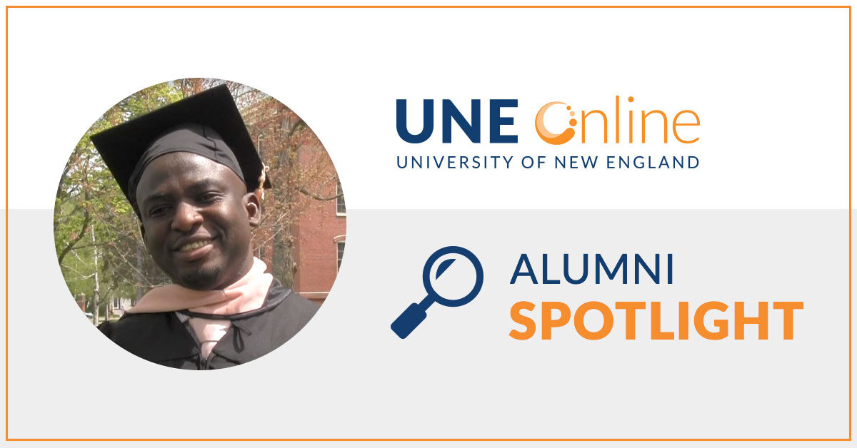 Kobe, University of New England Masters of Public Health Graduate