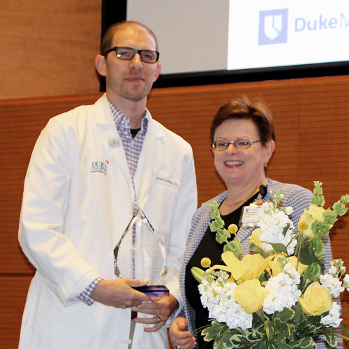 Dr. Stephen DeMeo receives the GME Innovation Award