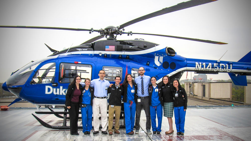 Dr. Stephen DeMeo and his Fellowship Group at Duke University