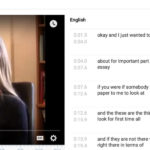Captioning in YouTube