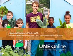 UNE Online, Graduate Programs in Public Health eBook