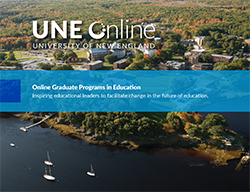 UNE Online, Graduate Programs in Education eBook