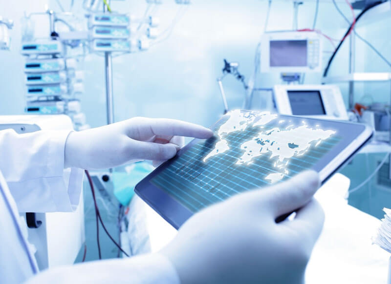 Health Informatics accessible via iPad
