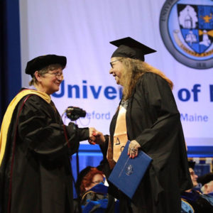 UNE Online Hooding and Graduation 2016
