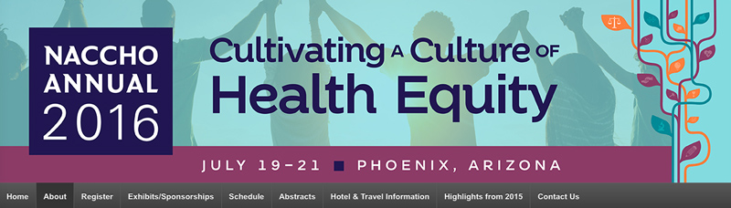 NACCHO Public Health Conference Banner