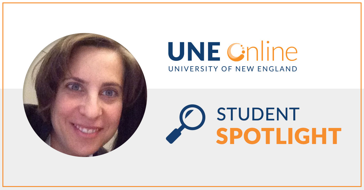 Alison Braid, MPH student at UNE Online