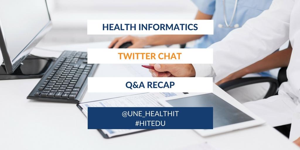 Health Informatics Twitterchat
