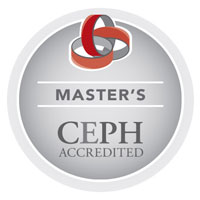 The MPH program at UNE is CEPH Accredited