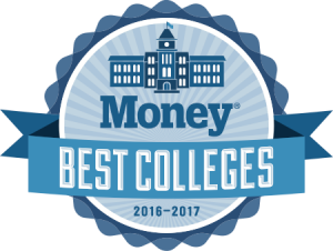 MONEY Best Colleges 2016-2017 recognition