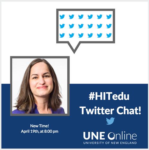 #HITedu Twitter Chat! with Elizabeth Zampino