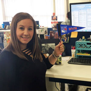 Hayley Kinsella, Senior Student Support Specialist
