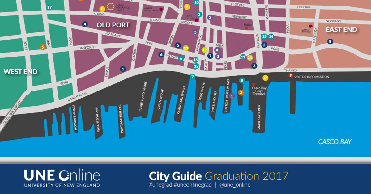 City Guide UNE Graduation 2017
