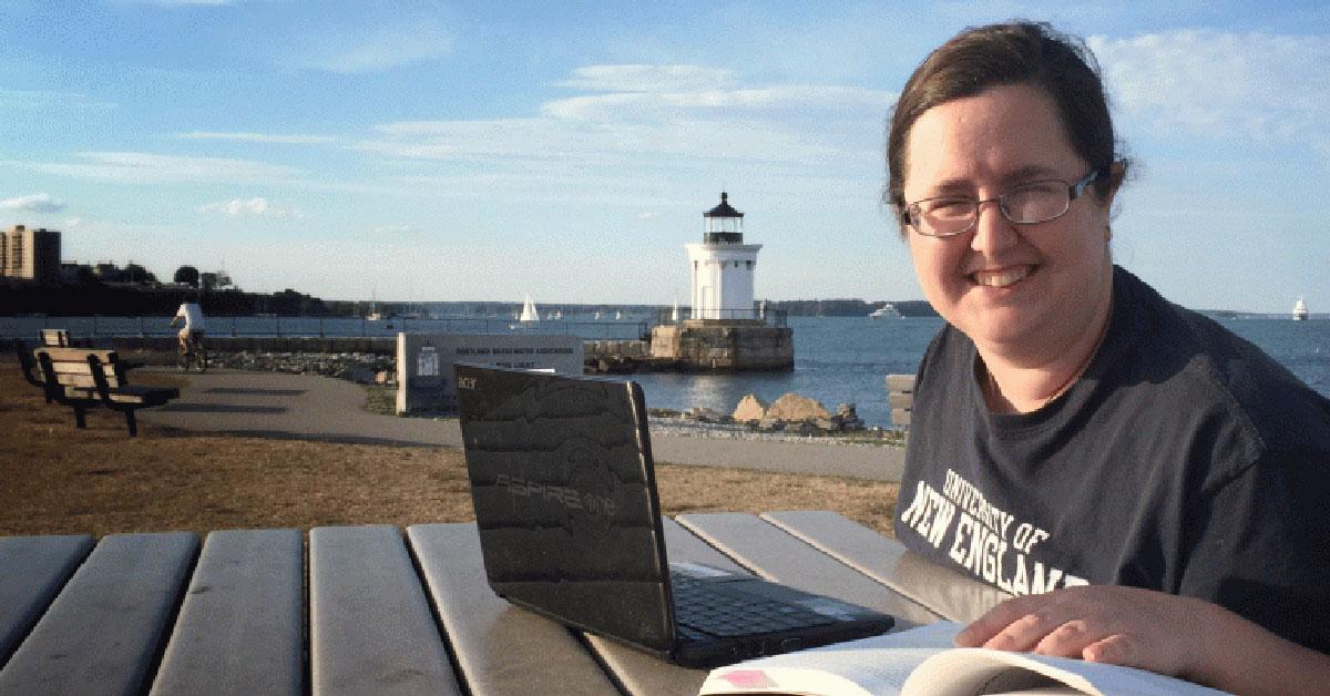 Elizabeth Benz, Director of Student Support at UNE Online