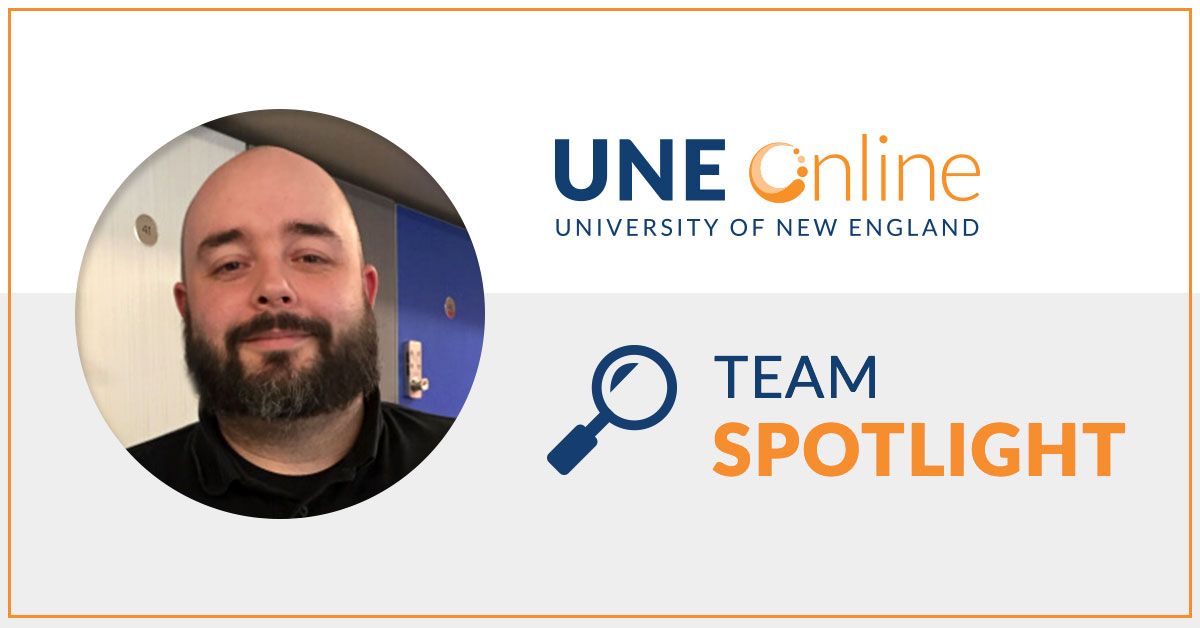 Greg Andrews Student Support Specialist at UNE Online