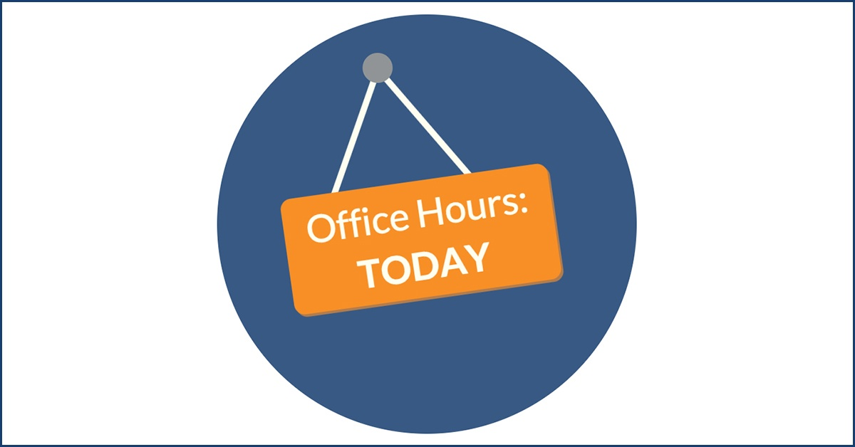 how to use online office hours