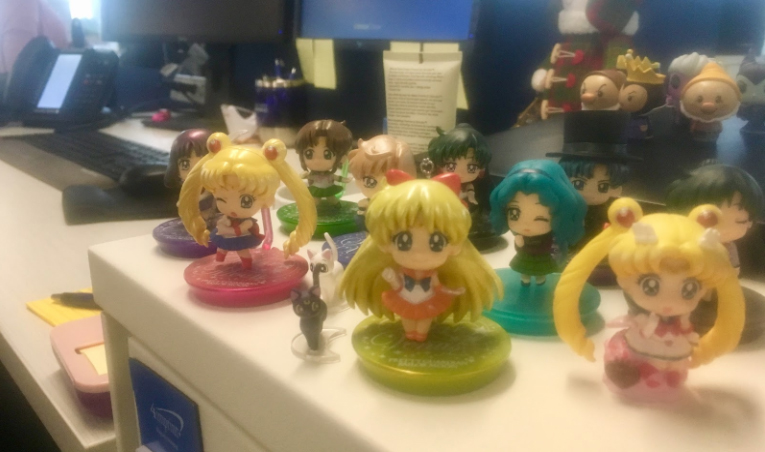 Sailor Moon Figurines