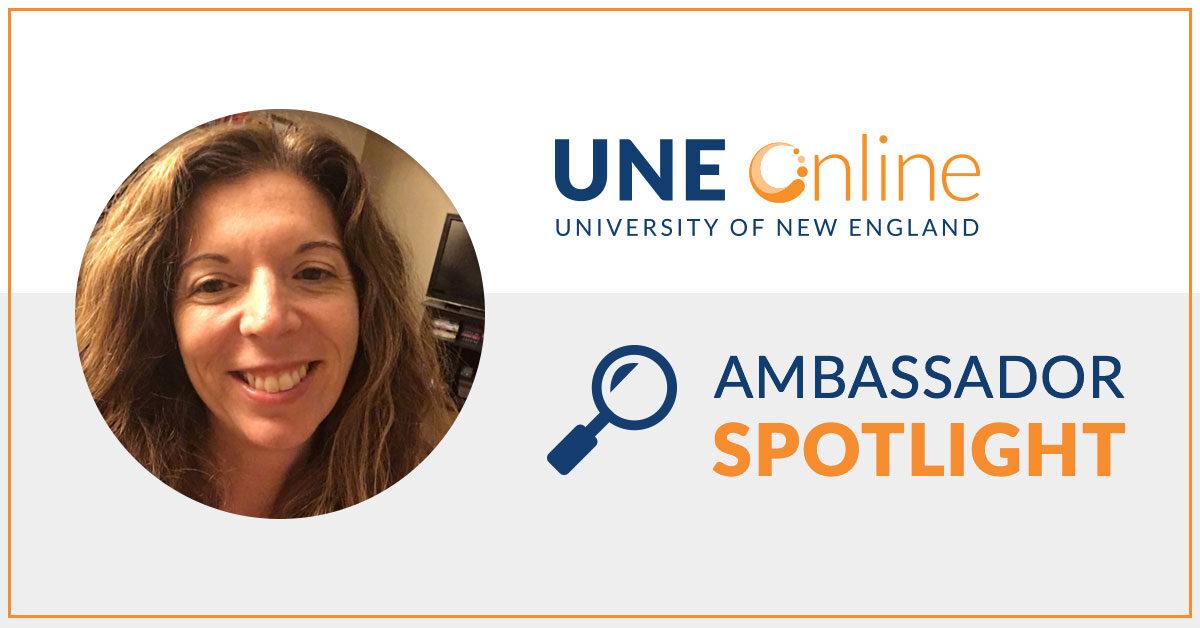 Deborah Morin, UNE Online Ambassador