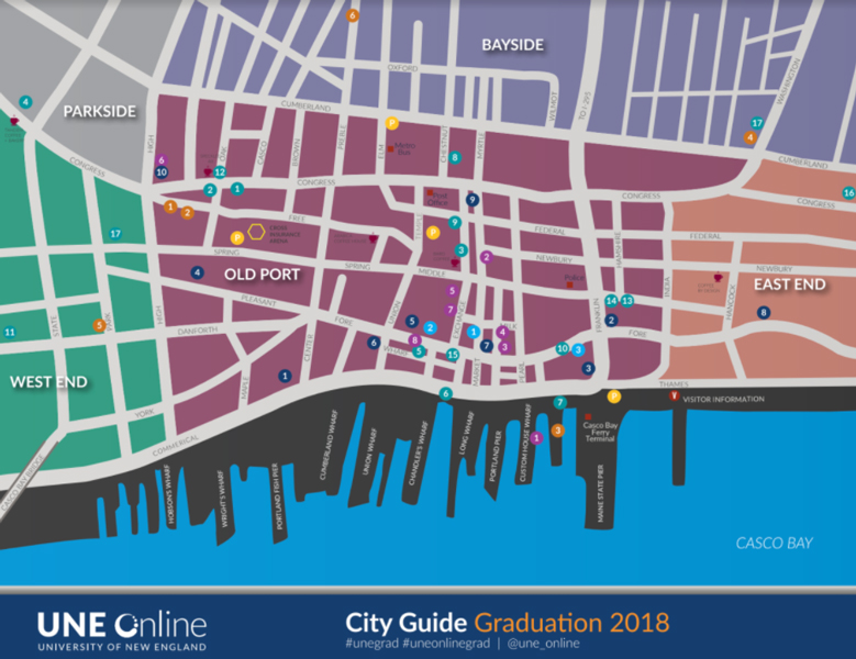 Portland Map and City Guide