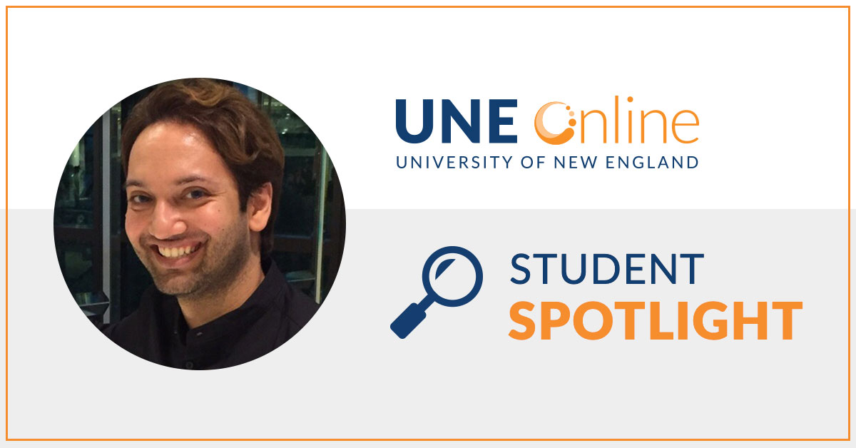 Dr. Puneet Saini Student in the Master of Public Health MPH program at UNE Online