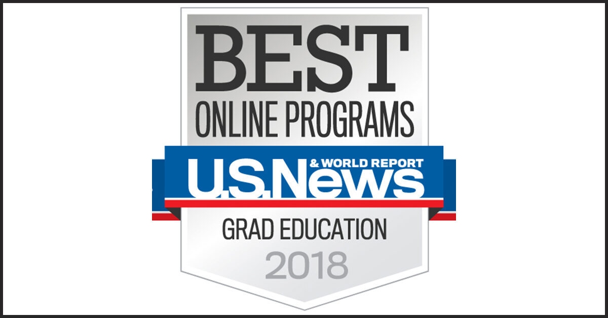 US News World Report Grad Education 2018
