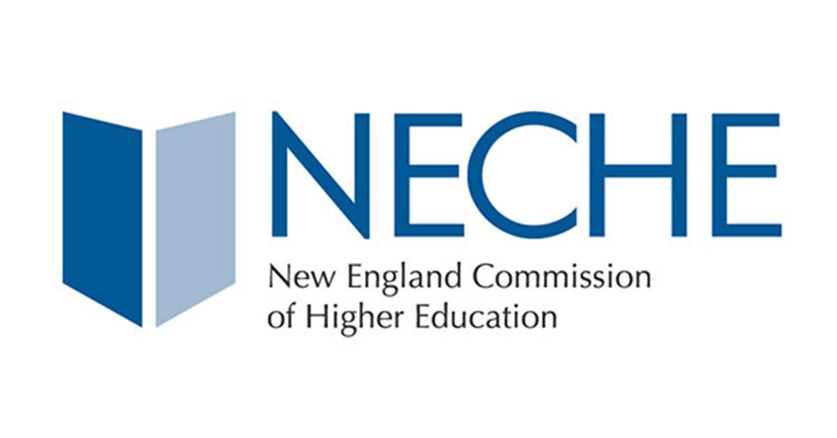 NEASC logo with grey circle