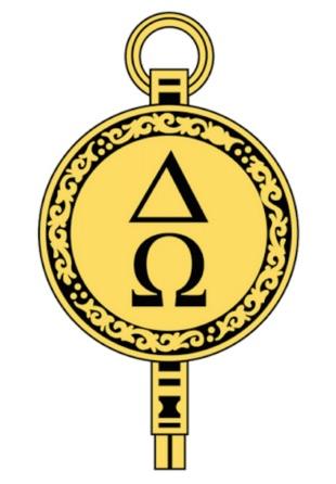 Logo of Delta Omega Honor Society for Public Health Professionals