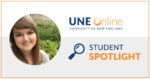 Stephanie Marcotte, an Ed.D. Student at UNE Online, holds multiple leadership roles