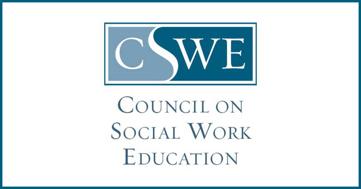 CSWE accreditation square logo