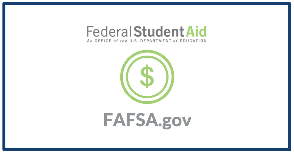 The logo of the Federal Student Aid department to complete your FAFSA for graduate school