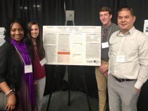 Titilola Balogun, DrPH and Tiffany Corvino Public Health Poster Presentation at MPHA 2018