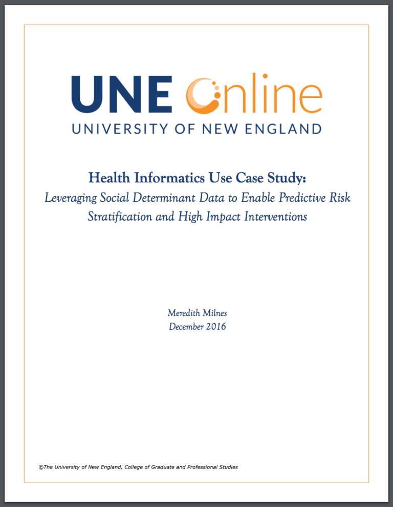 Health Informatics White Paper Free Download, about social determinants and health informatics