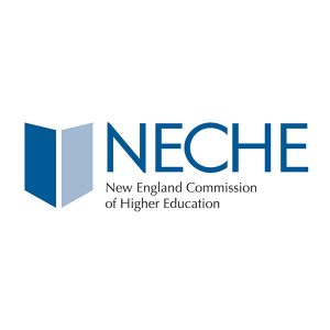 NEASC logo with grey circle