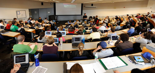 UNE Lecture hall