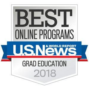 2018 U.S. News & World Report Best Online Programs in Grad Education