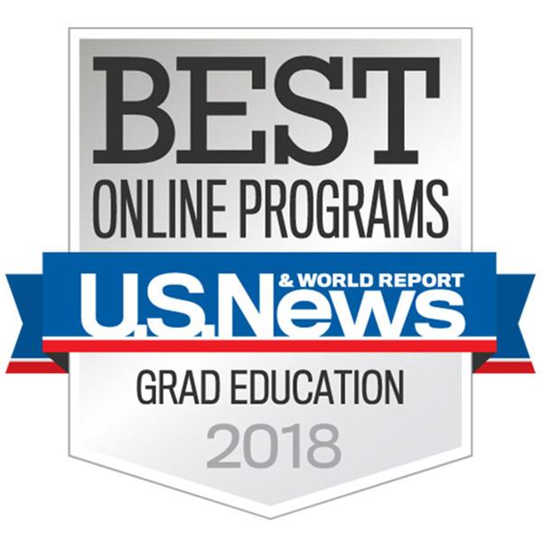 2018 U.S. News & World Report Best Online Programs in Grad Education