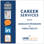 Career Services at UNE Online Public Health