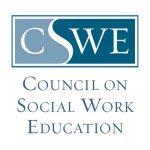 Logo indicating CSWE accreditation