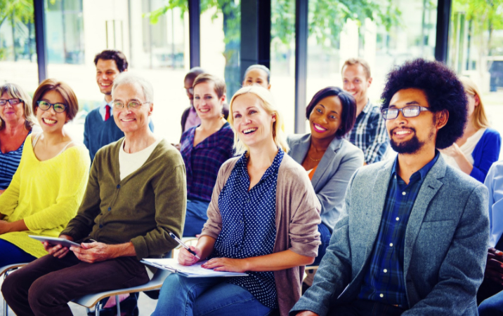 Four steps to create engaging presentations and materials for adult audiences