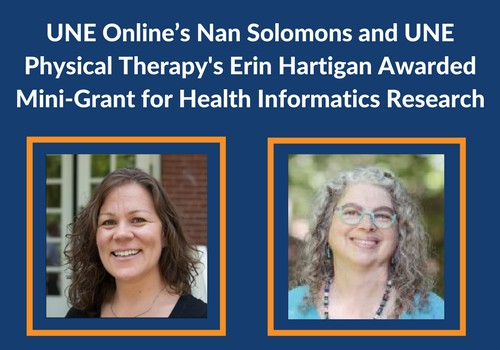 UNE Online's Nan Solomons Awarded Mini-Grant for Health Informatics Research
