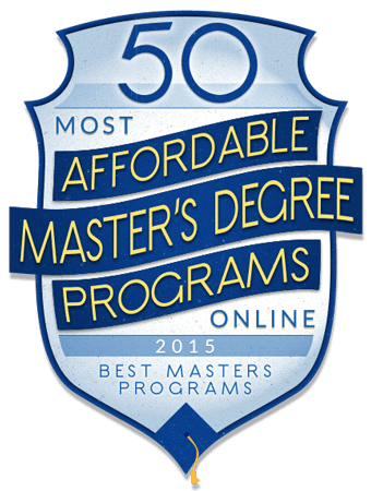 50 Most Affordable Online Master's Degrees for 2015