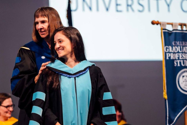 Michelle Collay at CGPS Hooding