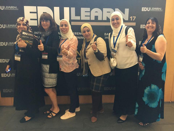 Group photo of EDULEARN 2017 attendees