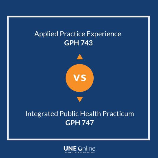 Difference between Applied Practice Experience vs Practicum