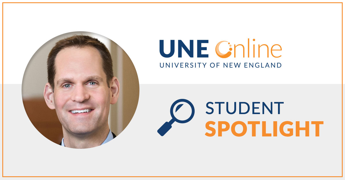 Jeffrey Brown, Chief Information Officer, Martin's Point Healthcare, Ed.D. in Transformative Leadership candidate at UNE Online