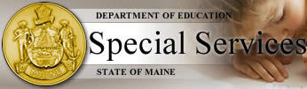 Dept of Education Special Services State of Maine