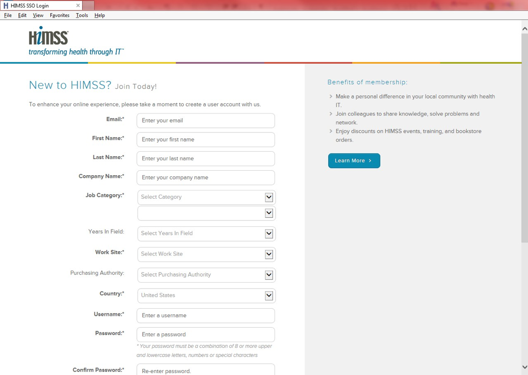 """Enter your student email address and all other information marked with an asterisk. For Job Category, you can select """"Others Allied to the Field"""" and then """"Student."""" Choose a Username and Password then click the Create Now button at the bottom of the page."""