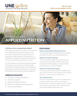 Applied Nutrition Brochure Download